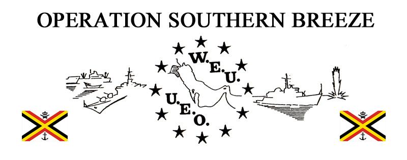 Les listes des équipages de l'Operation Southern Breeze Couvso10