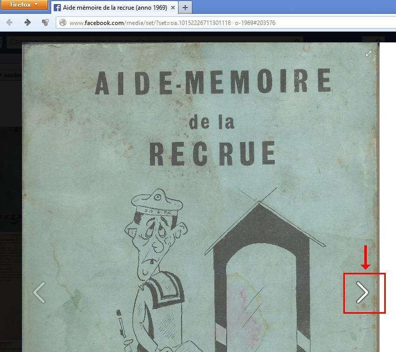 Aide-mémoire de la Recrue (anno 1969) Faceex10
