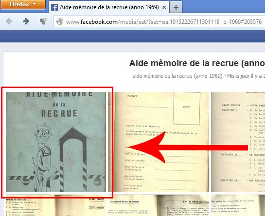 Aide-mémoire de la Recrue (anno 1969) Faceex11