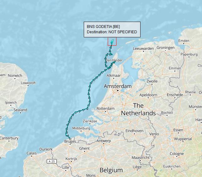 3 navires belges prendront part à l'exercice BALTOPS 2017 Gode10
