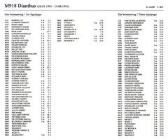 Les listes des équipages de l'Operation Southern Breeze M918_110