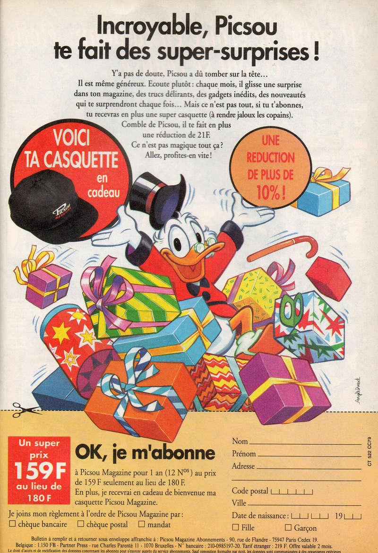 Les produits dérivés du Journal de Mickey et Picsou Magazine! - Page 2 Img17410