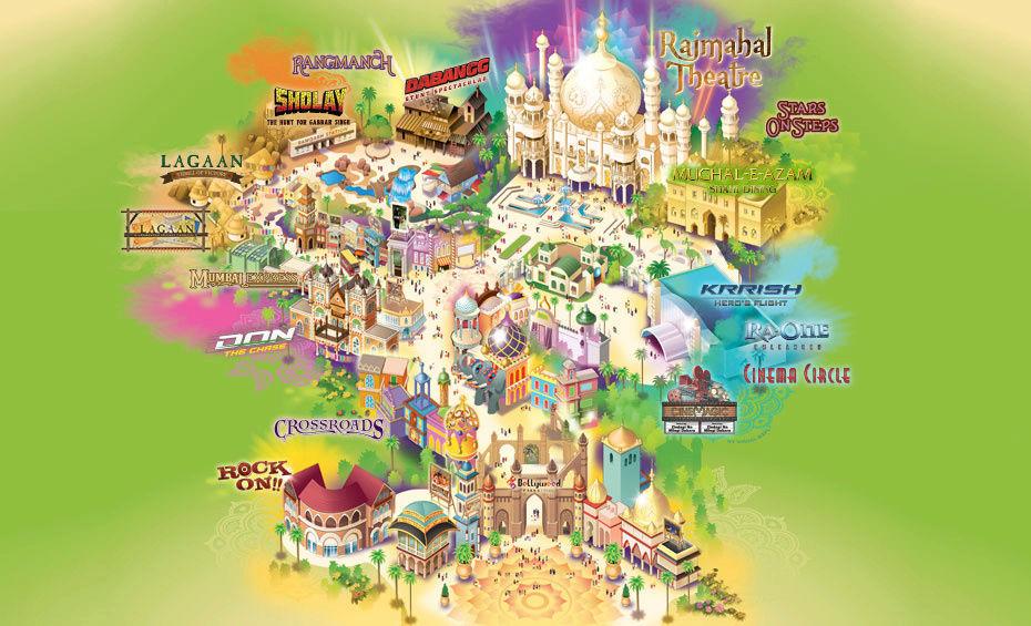[ÉAU] Dubai Parks & Resorts : motiongate, Bollywood Parks, Legoland (2016) et Six Flags (2019) - Page 7 Attrac10