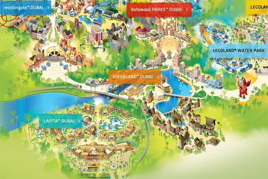[ÉAU] Dubai Parks & Resorts : motiongate, Bollywood Parks, Legoland (2016) et Six Flags (2019) - Page 7 Riverl10
