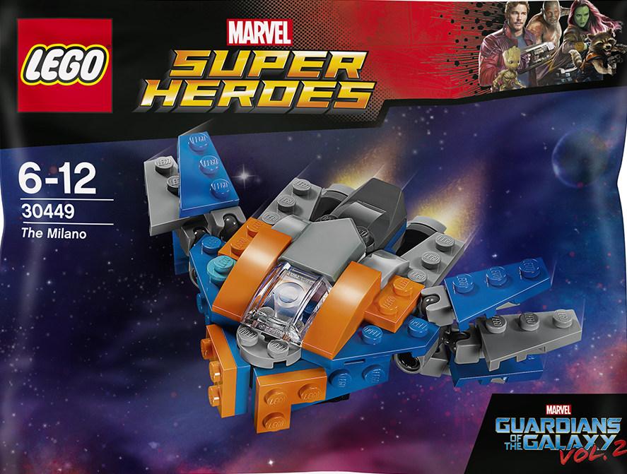 [LEGO] Les Gardiens de la Galaxie Vol. 2 : les ensembles du film 30449-10