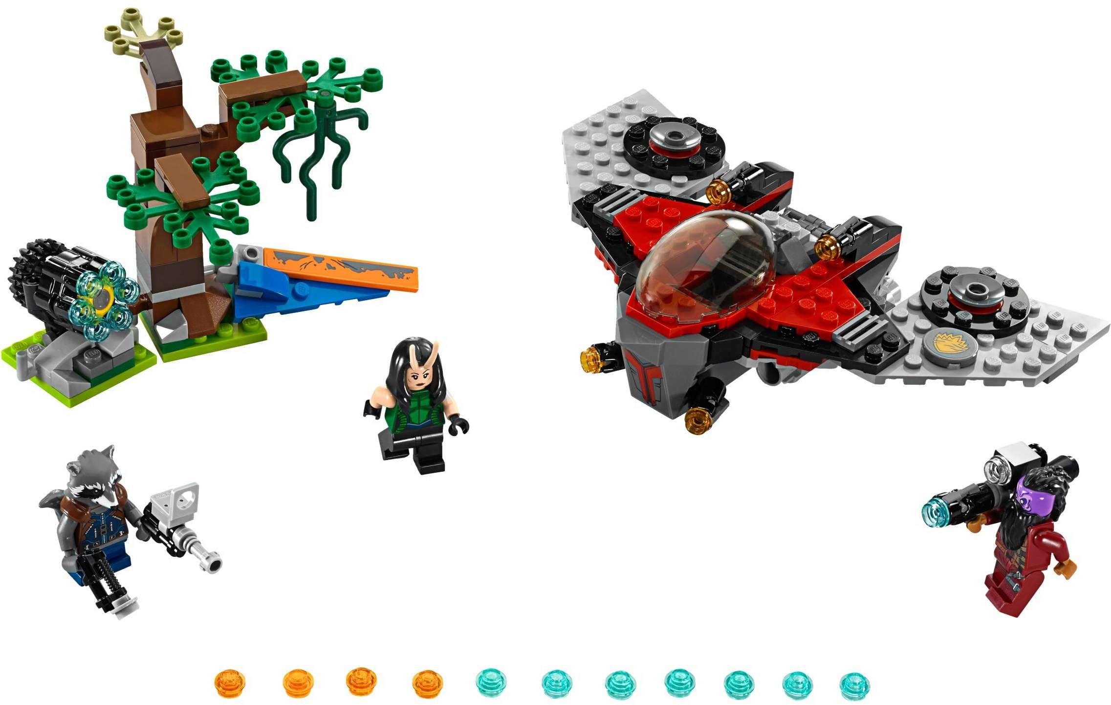 [LEGO] Les Gardiens de la Galaxie Vol. 2 : les ensembles du film 76079-10