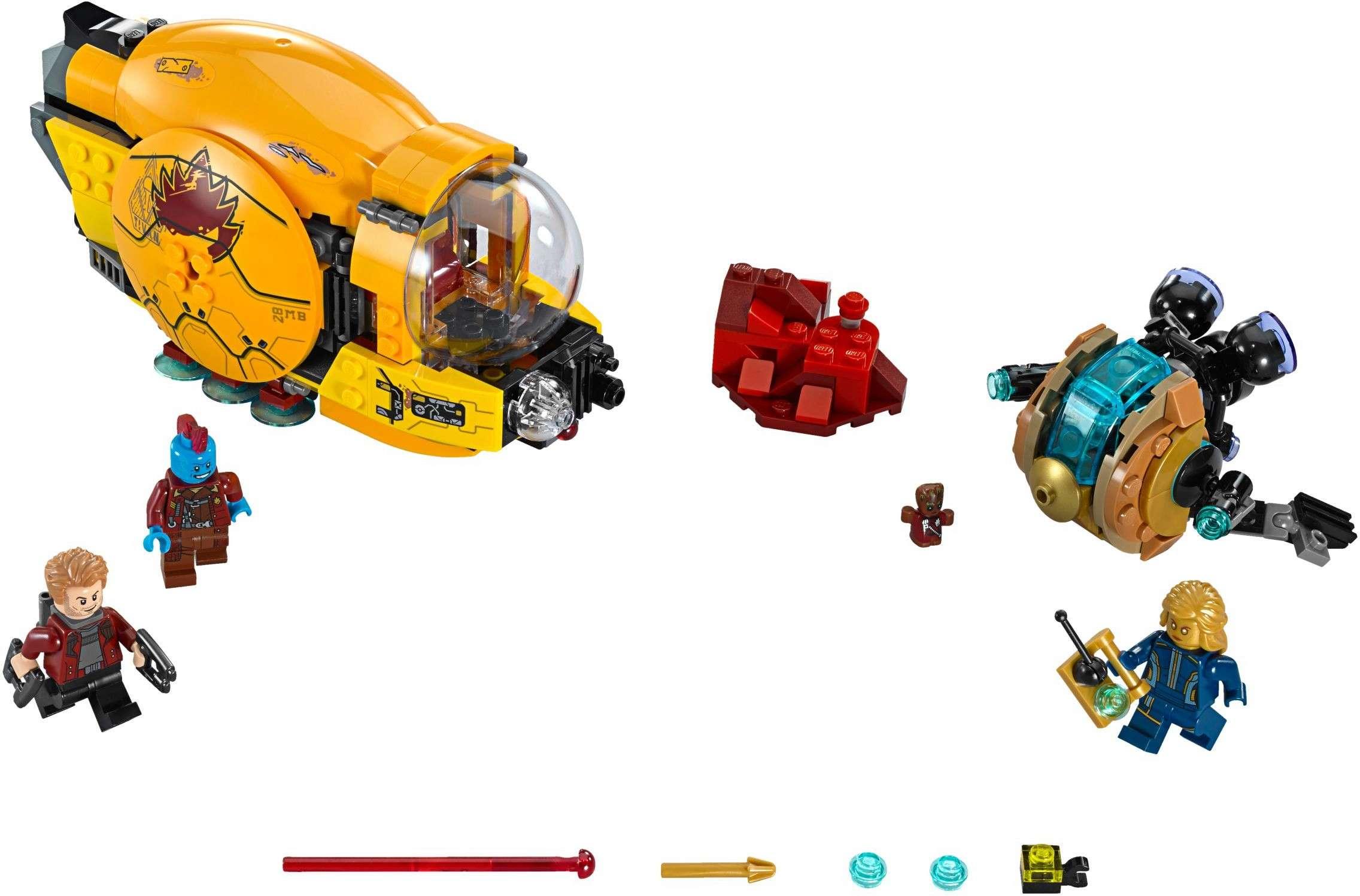 [LEGO] Les Gardiens de la Galaxie Vol. 2 : les ensembles du film 76080-10