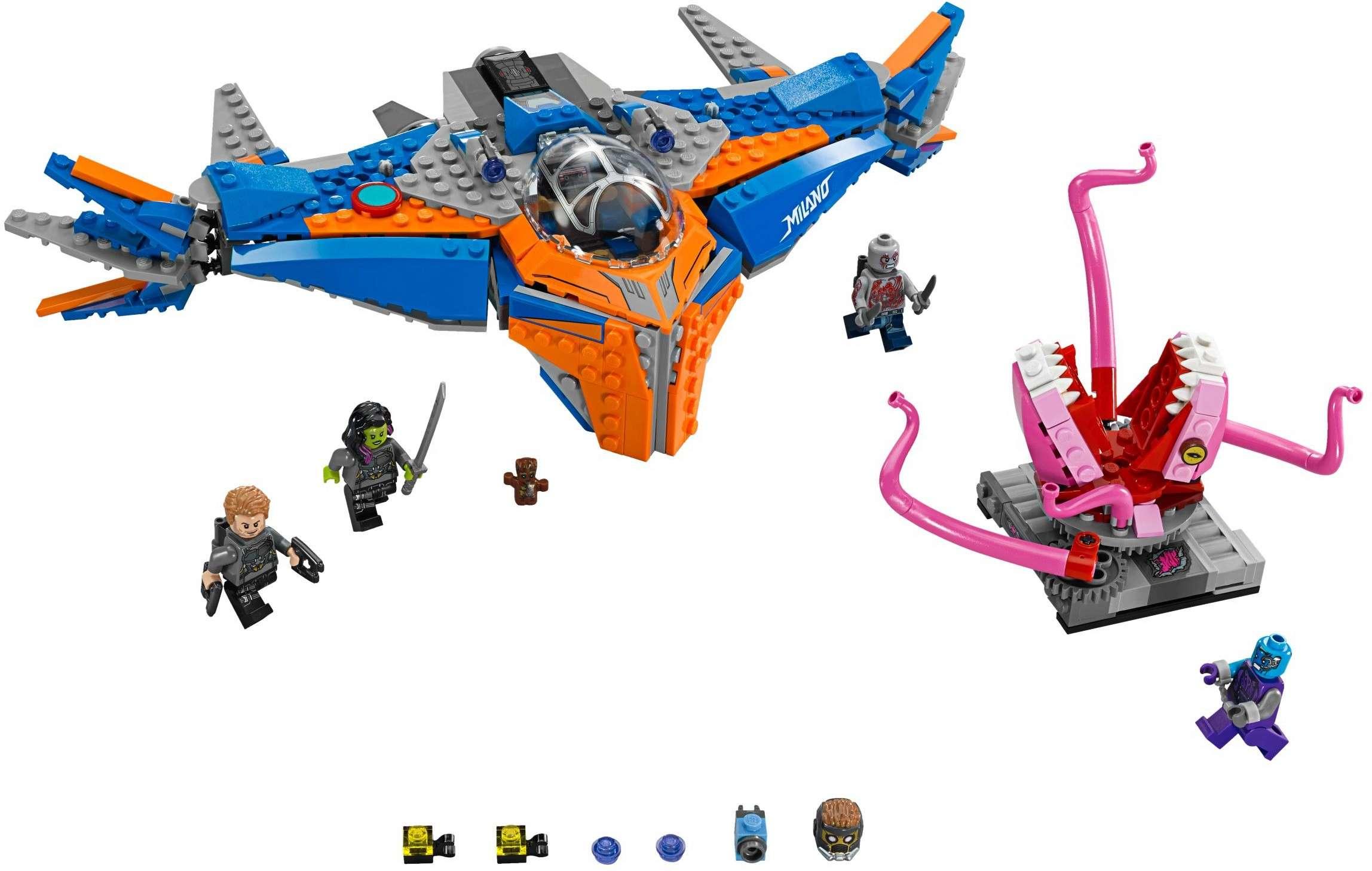 [LEGO] Les Gardiens de la Galaxie Vol. 2 : les ensembles du film 76081-10