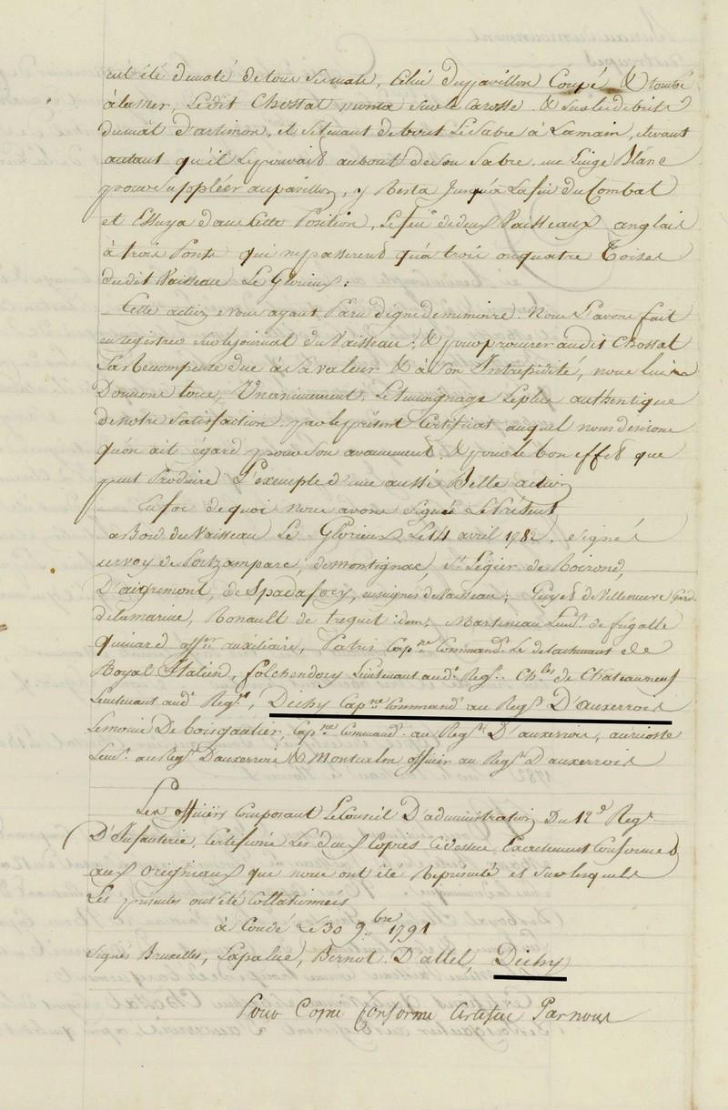 Régiment  du Languedoc et d'Auxerrois 1778 1783 Dossie10