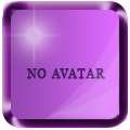 No avatar colored glossy Blue_a11