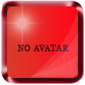 No avatar colored glossy Blue_a12
