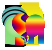 Colorful ballons  Untit110