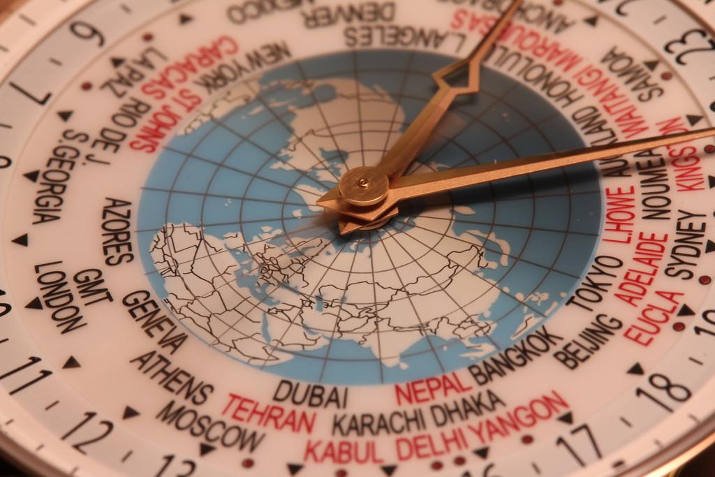 vacheron - Comme une envie de voyage…Vacheron Constantin World Time Inside. Img_3012