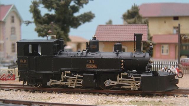 Les locomotives Mallet à voie étroite (H0e et H0m) 24c10