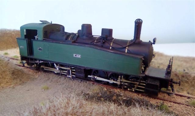 Les locomotives Mallet à voie étroite (H0e et H0m) Tda11