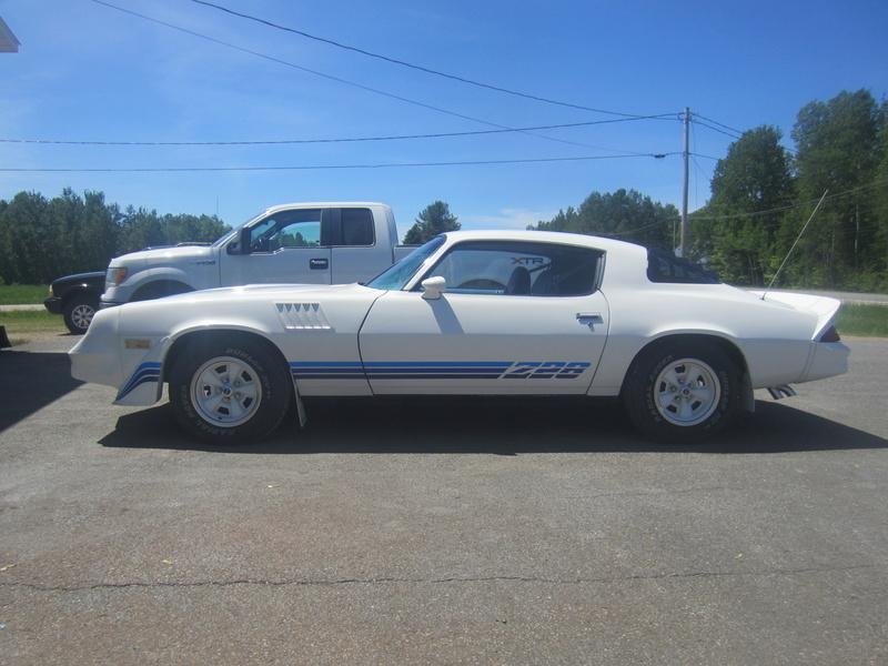 Chevrolet Camaro Z28 1979, 350 4 vit. seulement 75000 km!  Img_0615