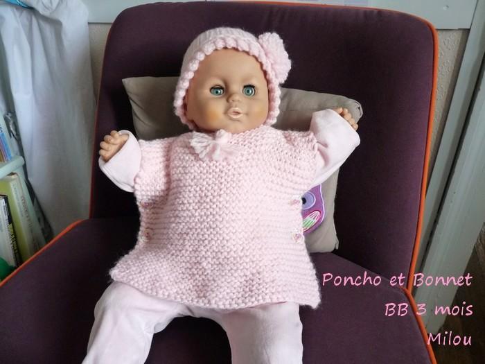 Poncho pour BB de 3 mois P1320322