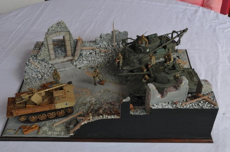 Normandie 44 - M32 Italeri - Sherman M4 Heller - 1/35e 40-nor12