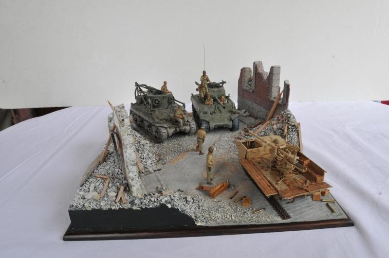 Normandie 44 - M32 Italeri - Sherman M4 Heller - 1/35e 40-nor15