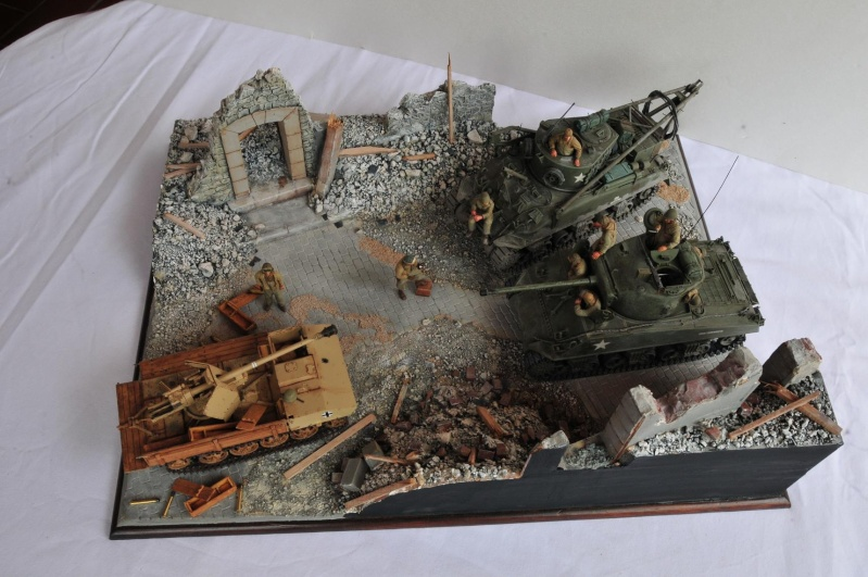 Normandie 44 - M32 Italeri - Sherman M4 Heller - 1/35e 40-nor16