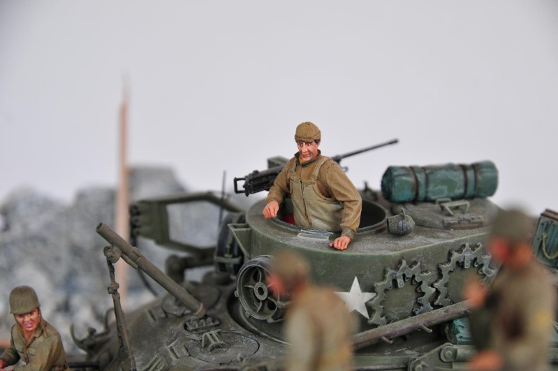 Normandie 44 - M32 Italeri - Sherman M4 Heller - 1/35e 40-nor19