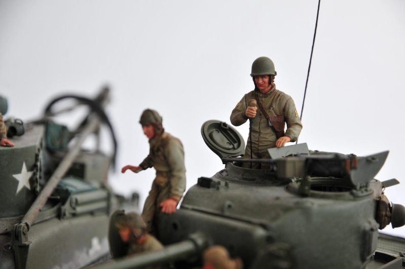 Normandie 44 - M32 Italeri - Sherman M4 Heller - 1/35e 40-nor20
