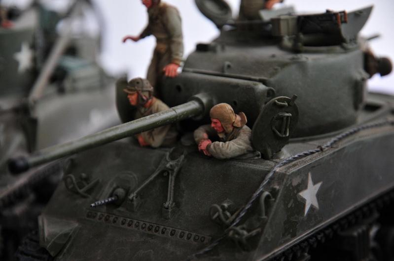 Normandie 44 - M32 Italeri - Sherman M4 Heller - 1/35e 40-nor21