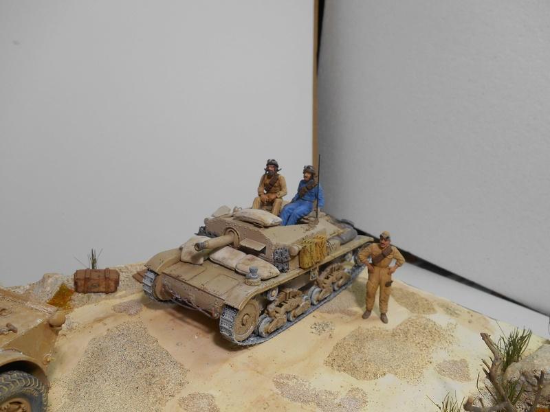 """""""La pattuglia persa"""" - Maquettes Italeri - Figurines MB et Mini Art - 1/35e R40-1545"""