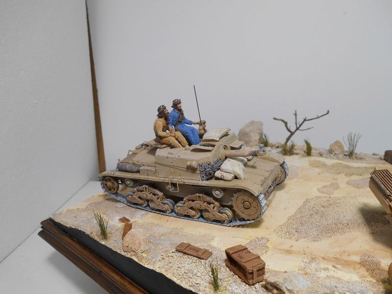 """""""La pattuglia persa"""" - Maquettes Italeri - Figurines MB et Mini Art - 1/35e R40-1558"""
