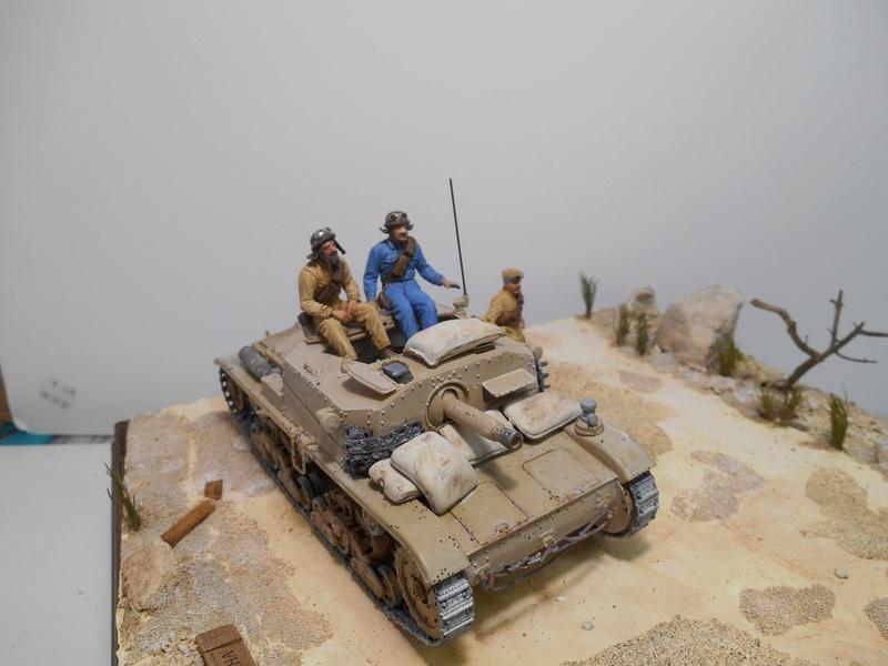 """""""La pattuglia persa"""" - Maquettes Italeri - Figurines MB et Mini Art - 1/35e R40-1561"""