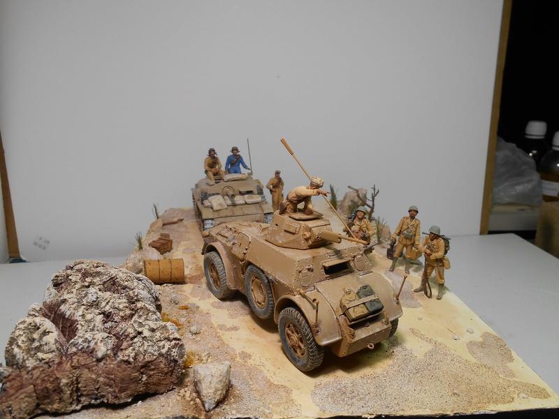 """""""La pattuglia persa"""" - Maquettes Italeri - Figurines MB et Mini Art - 1/35e R40-1562"""