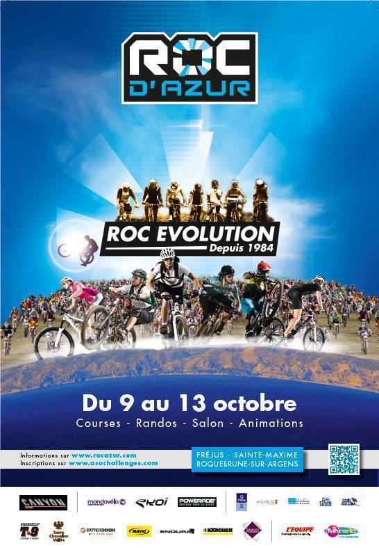 ROC D'AZUR 2013 - du 10 au 13 octobre 2013 Affich10