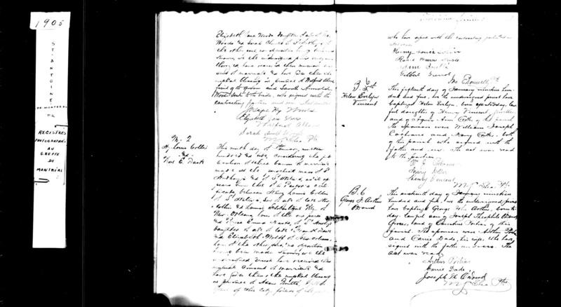 Mariage de John wood ou J-B Dubois et Sarra Charette Duroch11