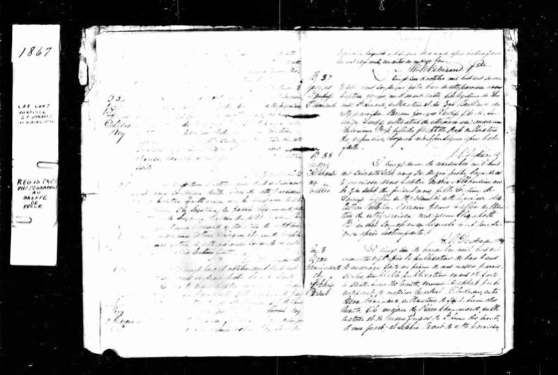 Recherche naissance et décès de Elmire Leclerc/Francoeur? George10
