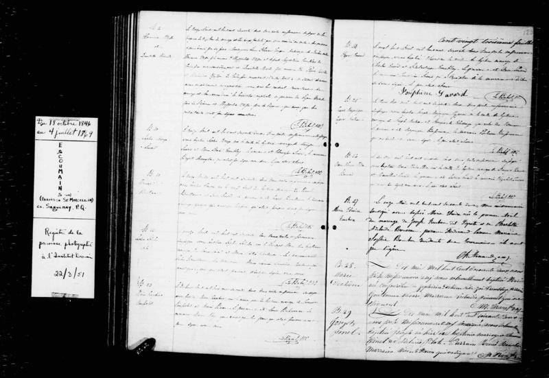 Mariage entre Herménégilde Otis et Domitille Dechesne vers 1885 Mariag13