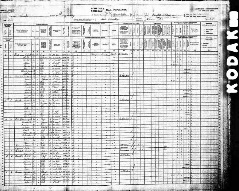 Mariage entre Herménégilde Otis et Domitille Dechesne vers 1885 Recens17
