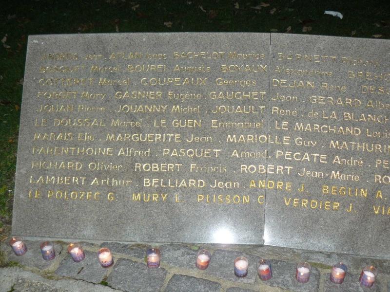 Cérémonie du souvenir des 29 résistants Malouins fusillés P1090015