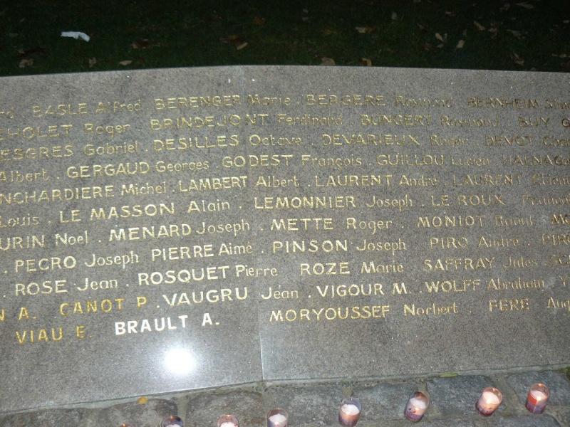 Cérémonie du souvenir des 29 résistants Malouins fusillés P1090017
