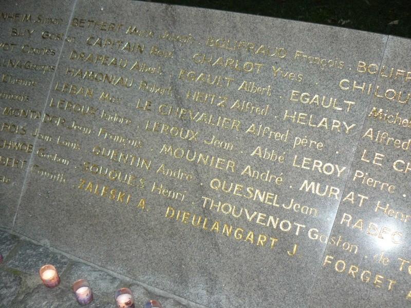 Cérémonie du souvenir des 29 résistants Malouins fusillés P1090019