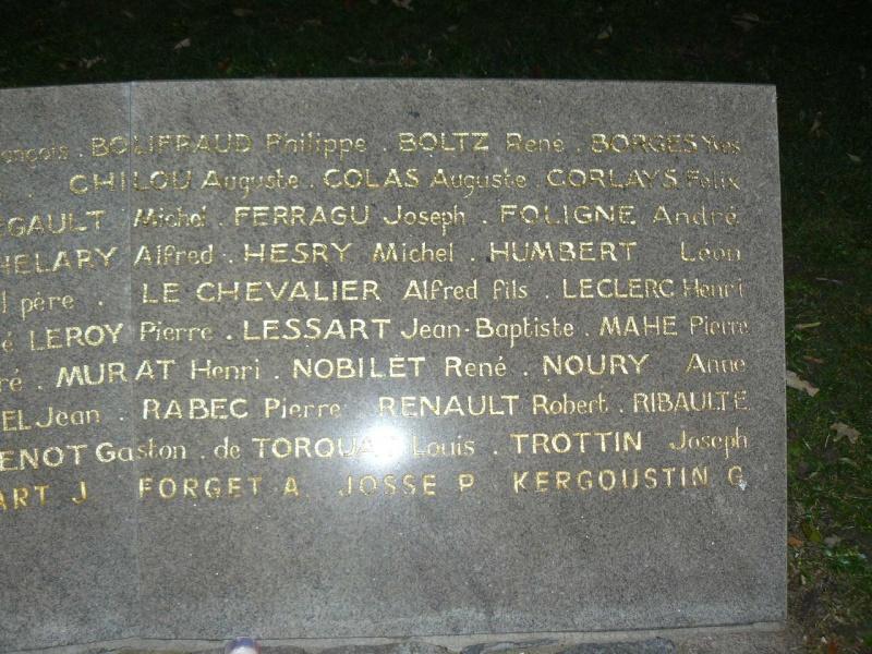 Cérémonie du souvenir des 29 résistants Malouins fusillés P1090020