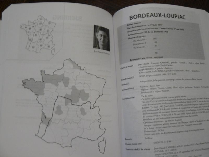 Résistance en France: un dictionnaire des réseaux de 1077 pages!!! P1090127