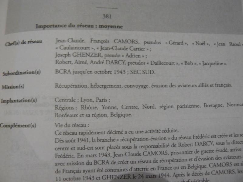 Résistance en France: un dictionnaire des réseaux de 1077 pages!!! P1090129