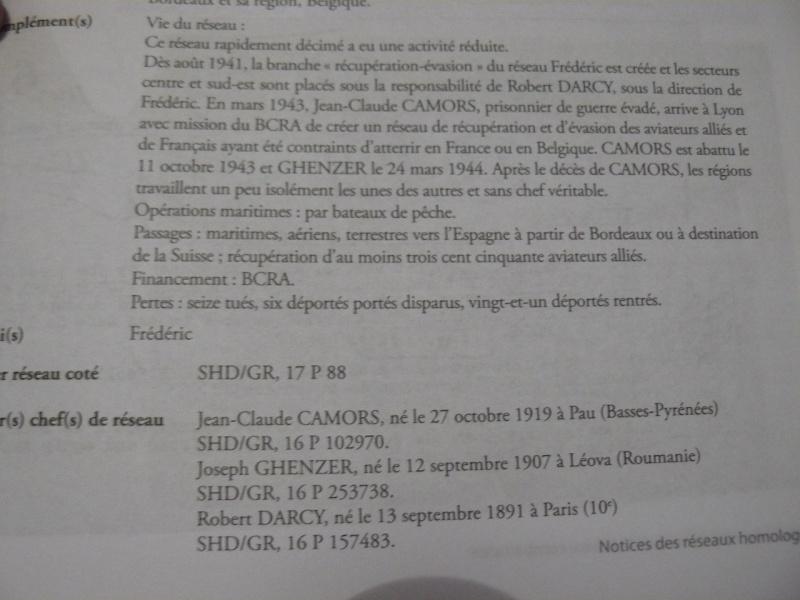 Résistance en France: un dictionnaire des réseaux de 1077 pages!!! P1090130