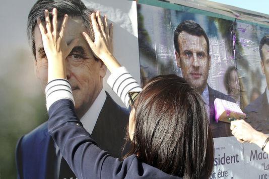 21 avril 2017 -  FH « Ma préférence va à François Fillon » (Le Monde) 51148110