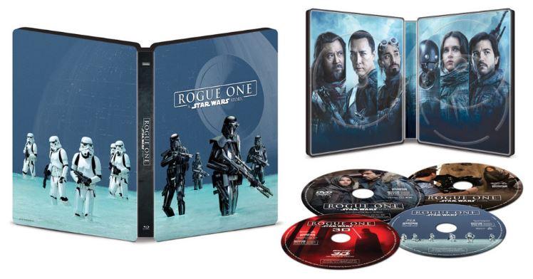 Rogue - DVD Blu Ray Star Wars Roque One Brdvd010
