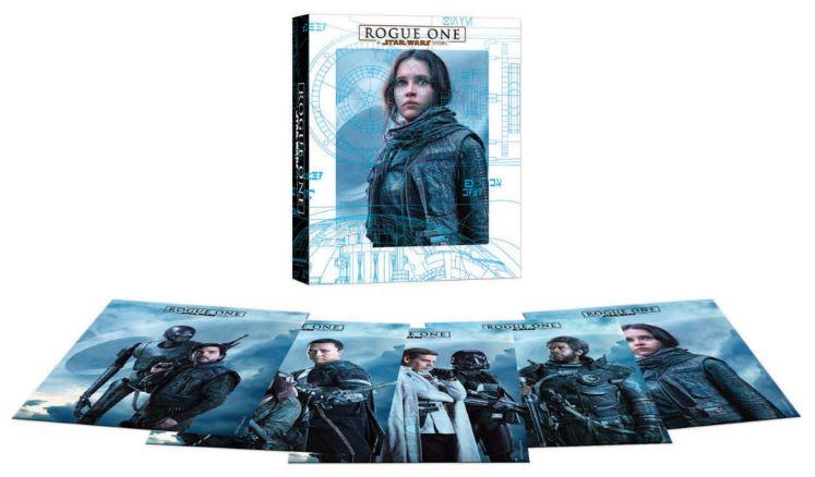 Rogue - DVD Blu Ray Star Wars Roque One Brdvd012