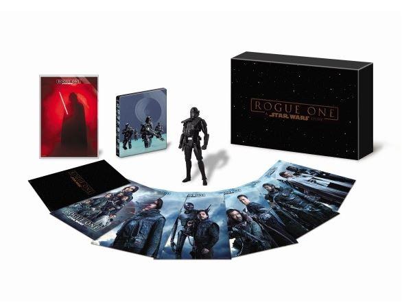 Rogue - DVD Blu Ray Star Wars Roque One Brdvd013