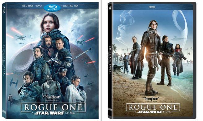 Rogue - DVD Blu Ray Star Wars Roque One Brdvd10