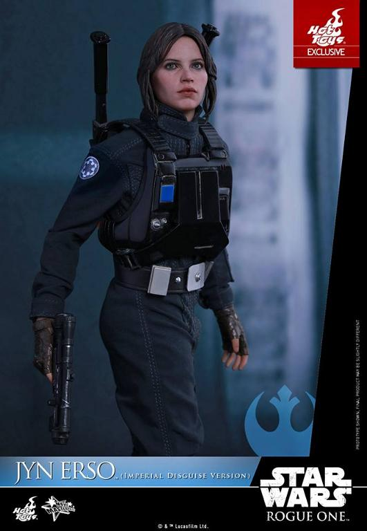 Hot Toys Rogue One 1/6th Jyn Erso Imperial Disguise Version Jyn_im11