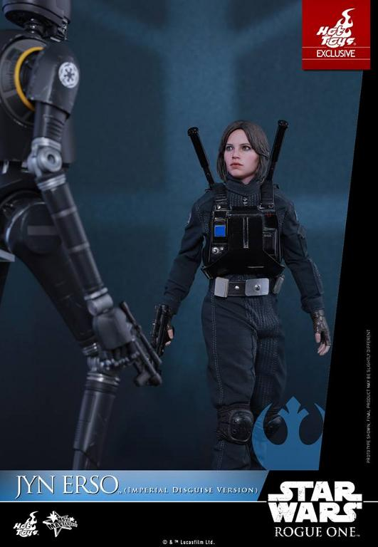 Hot Toys Rogue One 1/6th Jyn Erso Imperial Disguise Version Jyn_im13